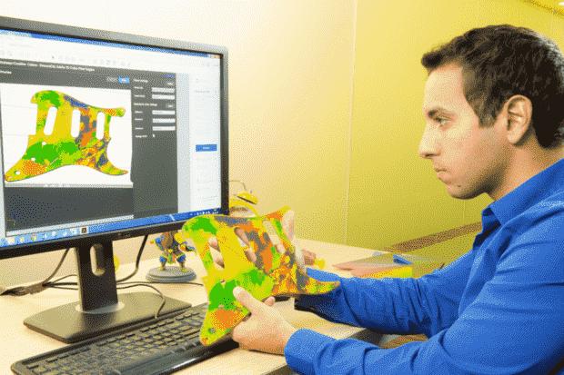 Stratasys通过3D打印机上的Photoshop实现了超过1000种颜色