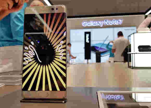 加拿大召回了Galaxy Note7,在美国报道70多件案件说