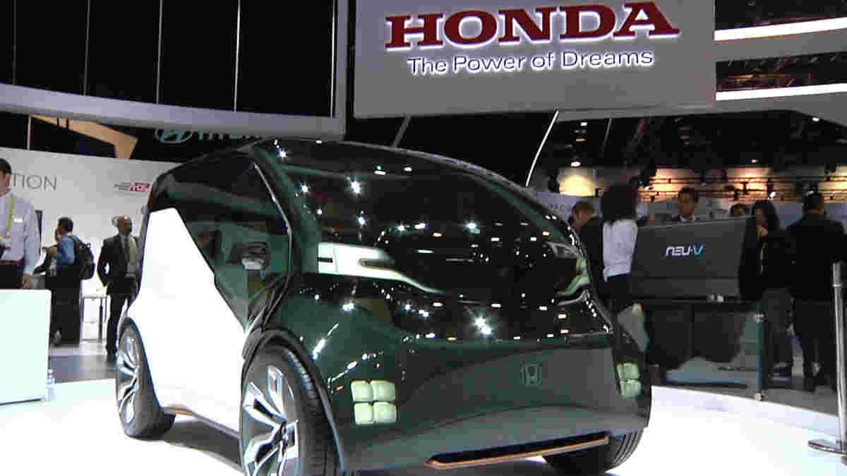 本田Neuv概念车是公司未来的一瞥