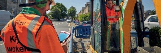 CityFibre在3400万英镑的谷谷全纤维项目上开始